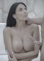 Busty goddess Anissa Kate taking it in the ass outdoors #16