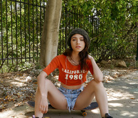 Lucy Cline in Skater Girl Swipes Right #01