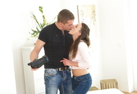 Cutie in a cardigan Lita Phoenix riding hard dick #04