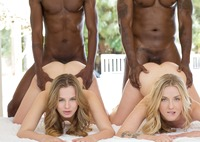 Jillian Janson and Karla Kush in interracial foursome #11