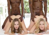 Jillian Janson and Karla Kush in interracial foursome #11