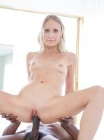 Skinny Natasha has been fantasizing about big black cock #14