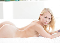 Dakota James tackles two big black cocks in threesome #05