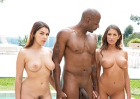 Valentina Nappi and August Ames in interracial threesome #05