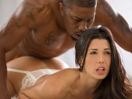 Fine ass milf Alexa Tomas enjoying a big black cock