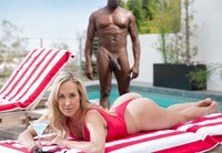 Busty milf Brandi Love enjoys a good BBC #01