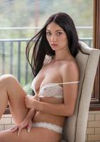 Gorgeous brunette Crystal Rae creaming on big black dick #01