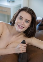 Blue eyed beauty Lana Rhoades takes on BBC #15