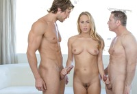 Carter Cruise getting rammed by big hard cocks #01