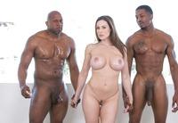 Kendra Lust taking on two big black dicks #04