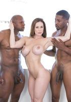Kendra Lust taking on two big black dicks #05