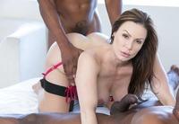 Kendra Lust taking on two big black dicks #13
