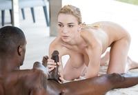 Kendra Sunderland a busty blonde enjoying a hung black guy #06