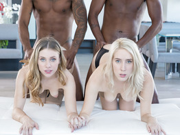 Cadence Lux and Anya Olsen go black