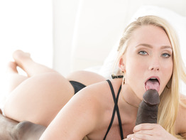 Aj Applegate gets reamed by a hung black guy