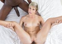 Makenna Blue enjoys multiple black dicks inside her #14