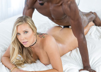 Samantha Saint opens her legs for a huge dick #14