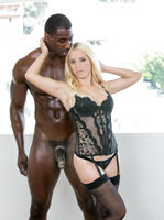 Aspen Romanoff taking that big black meat like a pro #05