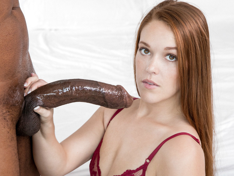 Kimberly Brix going to town on a giant black dick
