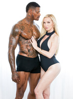 Nikki Benz is a busty blonde rammed by black dick #05