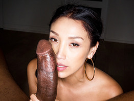 Vicki Chase takes a giant black dick in the ass