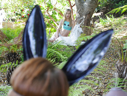 Jillian and Bree in silly rabbit, dildos are for kicks!