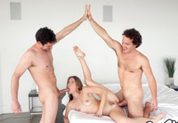 Anya Olsen in Creampied By Stepbrothers #10