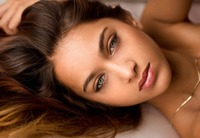 Beautiful young babe Uma Jolie stripping naked #09