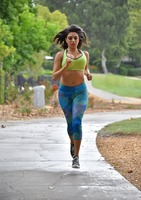 Darcie Dolce jogging and letting her big titties bounce #04