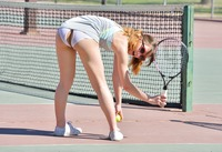 Aurora Belle getting kinky on the tennis court #12