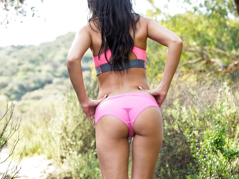 FTV milf Alexa Tomas having fun teasing on the trail