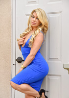 Nikki is a beautiful milf in Brilliant Blue  #08