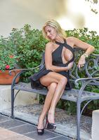 Jewel a busty milf in Classy Blonde #14