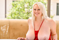 Camerona blonde milf in Blonde Busting Out #13