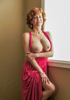 Veronica showing her busty body in Explicit Pinup #06