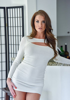 Silvia in Tight White Dress by FTV Milfs #08