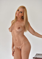 Tight bodied milf Sandy spreading her pussy #16