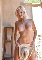 Busty milf Jewel in her southern style poolside #07