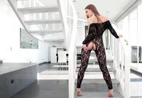 Veronika Clark shown taking a deep anal creampie #06