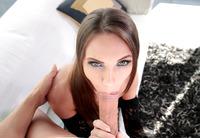 Veronika Clark shown taking a deep anal creampie #11