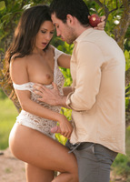 Alexa Tomas in passionate outdoor sex scene by Joymii #05