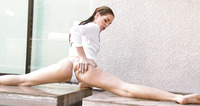Kimmy Granger gets sweet wet pussy fucked poolside #01