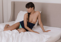 Perky babe Cindy being a bad girl with her dildo #03