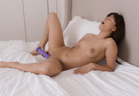 Perky babe Cindy being a bad girl with her dildo #15