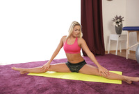 Blonde athlete Christen Courtney gets fucked after yoga #03