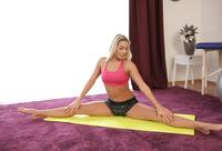 Blonde athlete Christen Courtney gets fucked after yoga #03