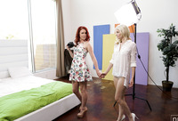 Charlotte Stokely & Elle Alexandra in Lights Camera Action #01