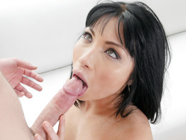 Rina Ellis is a sassy babe who knows how to fuck a dick
