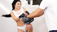 Adria Rae getting banged after an intense workout #03