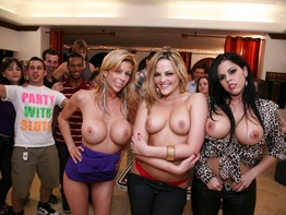 Real college sex with four horny girls, BangBros style